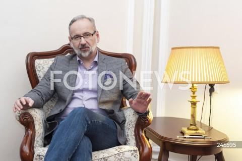 Adam Niedzielski - sesja w Warszawie