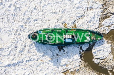 21.02.2021 WOLA BRWILENSKA<br />LODOLAMACZE NA WISLE W OKOLICY PLOCKA<br />N/Z LODOLAMACZ NA WISLE<br />