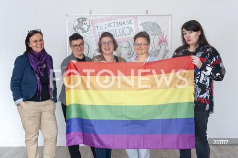 Konferencja Ogólnopolskiego Strajku Kobiet w Warszawie