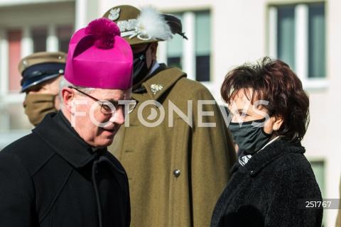 Wizyta marszałek Sejmu Elżbiety Witek w Rzeszowie