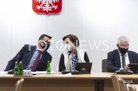 Posiedzenie Komisji Sprawiedliwości w Warszawie