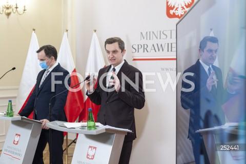 Konferencja w Ministerstwie Sprawiedliwości nt. sędziów pokoju w Warszawie