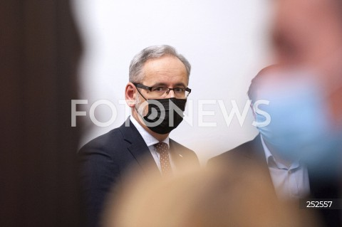 Konferencja po posiedzeniu Rządowego Zespołu Zarządzania Kryzysowego w Warszawie