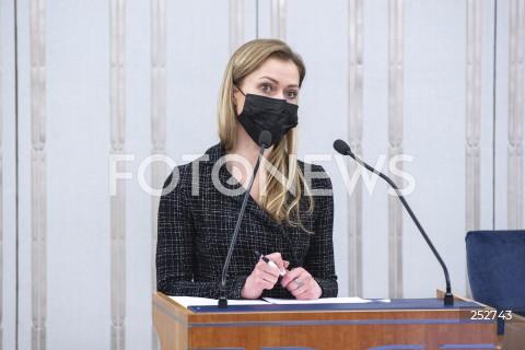 Posiedzenie Senatu w Warszawie