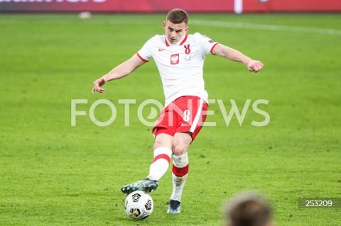 28.03.2021 WARSZAWA ( POLAND ) <br />PILKA NOZNA - ELIMINACJE DO MISTRZOSTW SWIATA 2022<br />FOOTBALL FIFA WORLD CUP 2022 QUALIFYING ROUND <br />MECZ POLSKA ( POLAND ) - ANDORA ( ANDORA ) <br />N/Z KACPER KOZLOWSKI SYLWETKA <br />