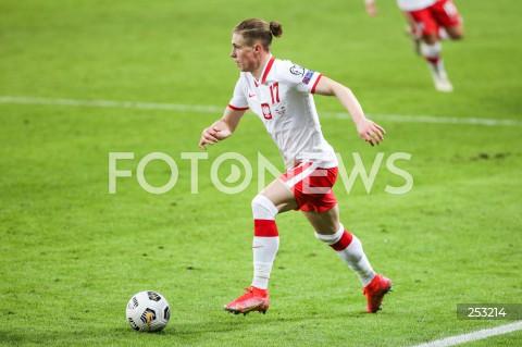 28.03.2021 WARSZAWA ( POLAND ) <br />PILKA NOZNA - ELIMINACJE DO MISTRZOSTW SWIATA 2022<br />FOOTBALL FIFA WORLD CUP 2022 QUALIFYING ROUND <br />MECZ POLSKA ( POLAND ) - ANDORA ( ANDORA ) <br />N/Z PRZEMYSLAW PLACHETA SYLWETKA <br />