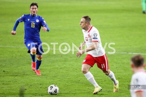 28.03.2021 WARSZAWA ( POLAND ) <br />PILKA NOZNA - ELIMINACJE DO MISTRZOSTW SWIATA 2022<br />FOOTBALL FIFA WORLD CUP 2022 QUALIFYING ROUND <br />MECZ POLSKA ( POLAND ) - ANDORA ( ANDORA ) <br />N/Z KAMIL GROSICKI ALEXANDRE MARTINEZ <br />