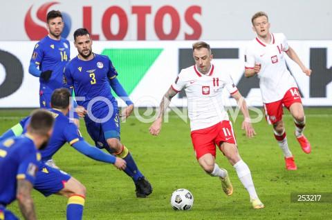 28.03.2021 WARSZAWA ( POLAND ) <br />PILKA NOZNA - ELIMINACJE DO MISTRZOSTW SWIATA 2022<br />FOOTBALL FIFA WORLD CUP 2022 QUALIFYING ROUND <br />MECZ POLSKA ( POLAND ) - ANDORA ( ANDORA ) <br />N/Z KAMIL GROSICKI MARC VALES KAROL SWIDERSKI <br />