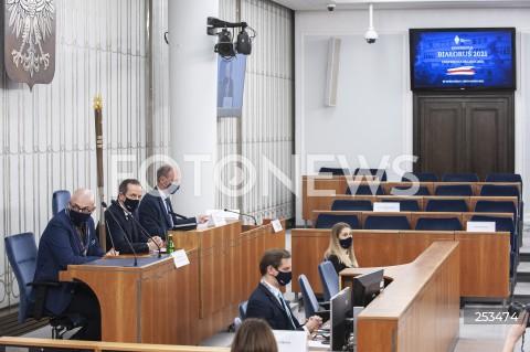"""Konferencja """"Białoruś 2021"""" w Senacie w Warszawie"""