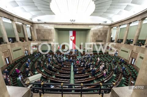 Posiedzenie Sejmu w Warszawie