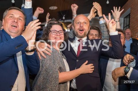 Wieczór wyborczy kandydata Konrada Fijołka w Rzeszowie