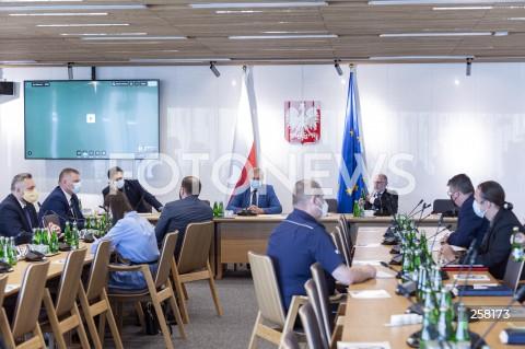 Posiedzenie komisji sejmowych w Warszawie