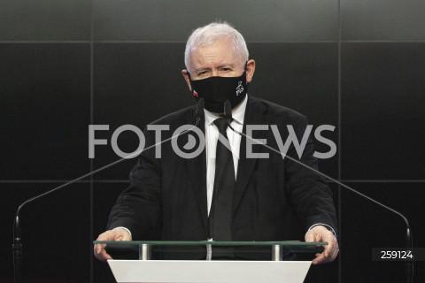 02.07.2021 WARSZAWA<br />OSWIADCZENIE PREZESA PIS JAROSLAWA KACZYNSKIEGO DOTYCZACE WSPOLNEJ DEKLARACJI IDEOWEJ KILKUNASTU EUROPEJSKICH PARTII <br />N/Z JAROSLAW KACZYNSKI<br />