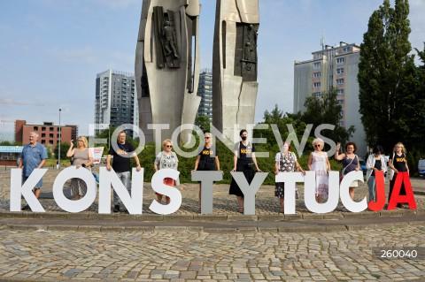 17.07.2021 GDANSK<br />TOUR DE KONSTYTUCJA PL PRZYSTANEK GDANSK<br />N/Z KOD NAPIS KONSTYTUCJA<br />