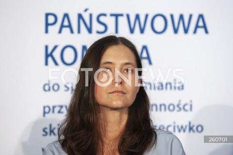 27.07.2021 WARSZAWA<br />KONFERENCJA KOMISJI DO SPRAW PEDOFILII<br />N/Z HANNA ELZANOWSKA<br />