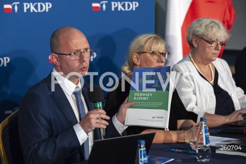 Konferencja komisji ds. pedofilii w Warszawie