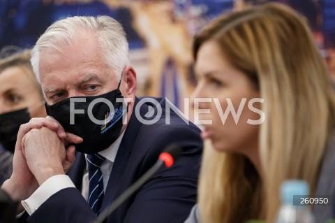 Spotkanie wicepremiera Jarosława Gowina i Anny Korneckiej oraz prezydenta Rzeszowa Konrada Fijołka z przedsiębiorcami w Rzeszowie