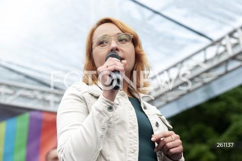 10.08.2021 WARSZAWA<br />PROTEST W OBRONIE WOLNYCH MEDIOW LEXTVN PRZED SEJMEM W WARSZAWIE<br />N/Z URSZULA ZIELINSKA<br />