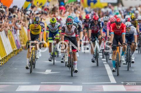 3. etap Tour de Pologne - meta w Rzeszowie