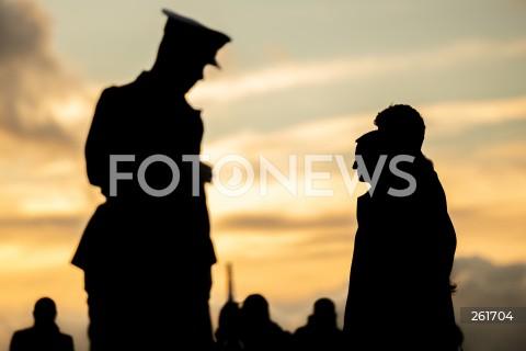 Obchody 82. rocznicy wybuchu II wojny światowej na Westerplatte w Gdańsku