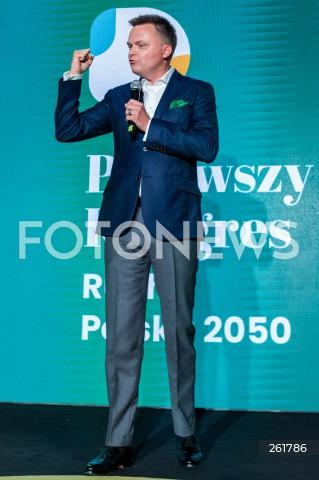 04.09.2021 WARSZAWA<br />PIERWSZY KONGRES RUCHU POLSKA 2050<br />N/Z SZYMON HOLOWNIA<br />