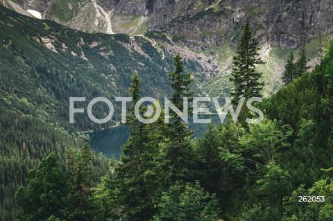 05.09.2021 TATRY <br />TATRZANSKI PARK NARODOWY <br />N/Z MORSKIE OKO - NAJWIEKSZE JEZIORO W TATRACH <br />