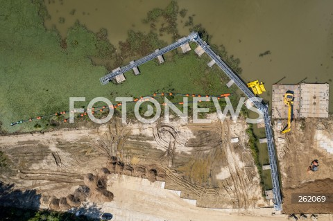 Rozpoczyna się odmulanie rzeki Wisłok na zalewie w Rzeszowie