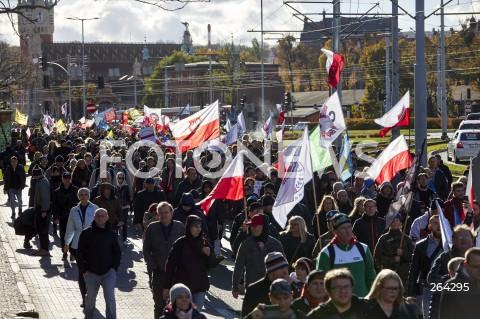 Pomorski Marsz Wolności w Gdańsku